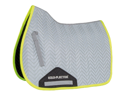 equiflector-reflective-saddlecloth-yellow-trim