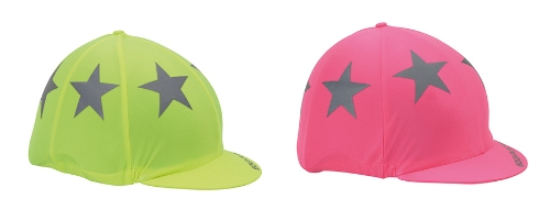equiflector-riding-hat-cover-bright-pink