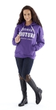 Horse Couture Ladies Hooded Top - Purple