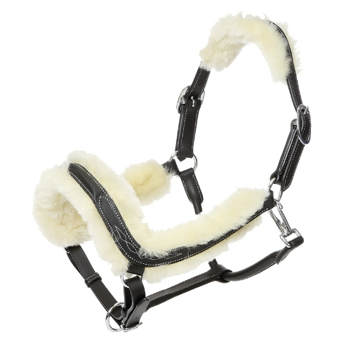 kavalkade-ivy-leather-headcollar-with-sheepskin-lining-black-pony