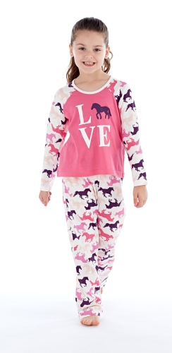 platinum-girls-love-horses-pyjamas-cream-pink-9-10-years