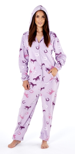 platinum-ladies-happy-horse-print-hooded-fleece-onesie-lilac-1416