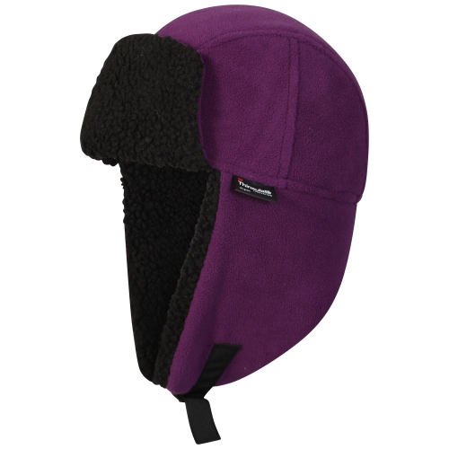 proclimate-ladies-waterproof-windproof-thinsulate-trapper-hat-purple
