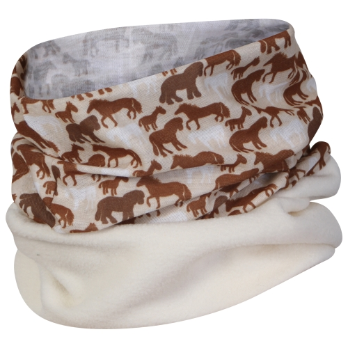 proclimate-skats-printed-multifunctional-headwear-with-reflective-strip-brown
