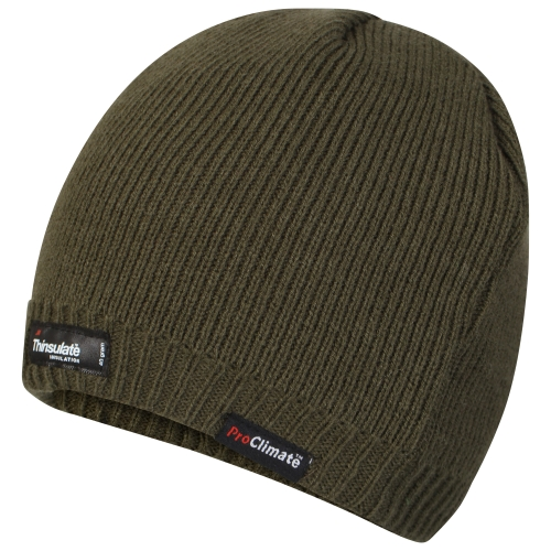 proclimate-unisex-waterproof-windproof-thinsulate-beanie-hat-olive-ml