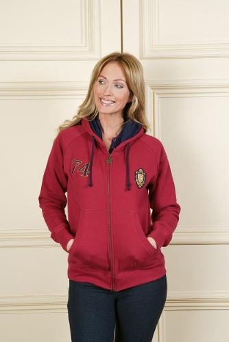 sherwood-forest-ladies-ayr-hoodie-ruby-size-10