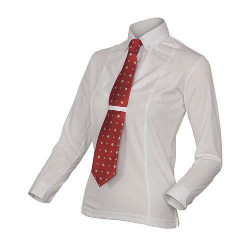 shires-childrens-long-sleeve-tie-shirt-white-large-age-1112