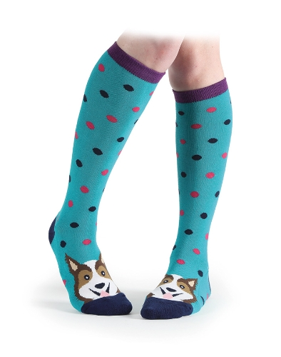 shires-everyday-knee-high-socks-green-dog-adults
