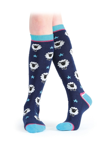 shires-everyday-knee-high-socks-navy-sheep-childs
