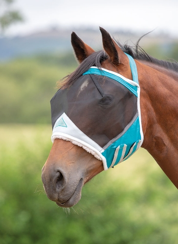 shires-fine-mesh-earless-fly-mask-teal