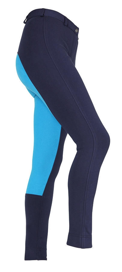 shires-maids-wessex-two-tone-jodhpurs-navyturquoise-age-1314-yrs