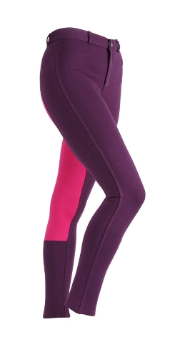 shires-maids-wessex-two-tone-jodhpurs-purplepink-age-1112-yrs