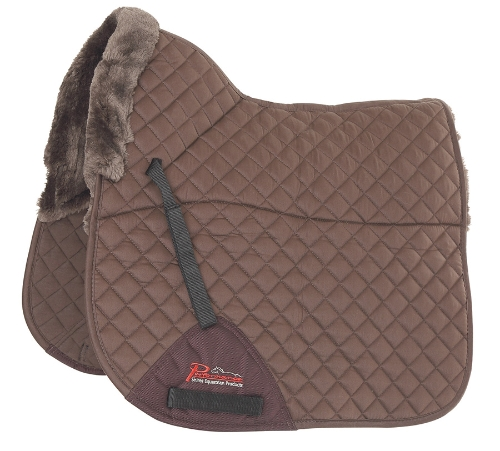 shires-performance-supafleece-dressage-saddlecloth-brown