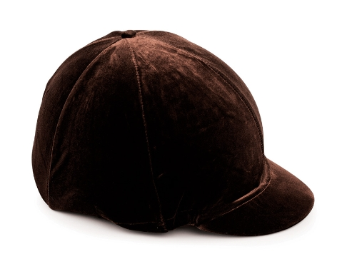 shires-velveteen-skull-cap-cover-brown-5357cm
